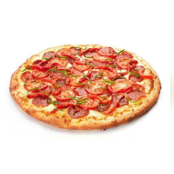 德式烤肠披萨