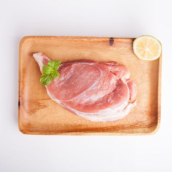 海南黑毛猪纯精腿肉