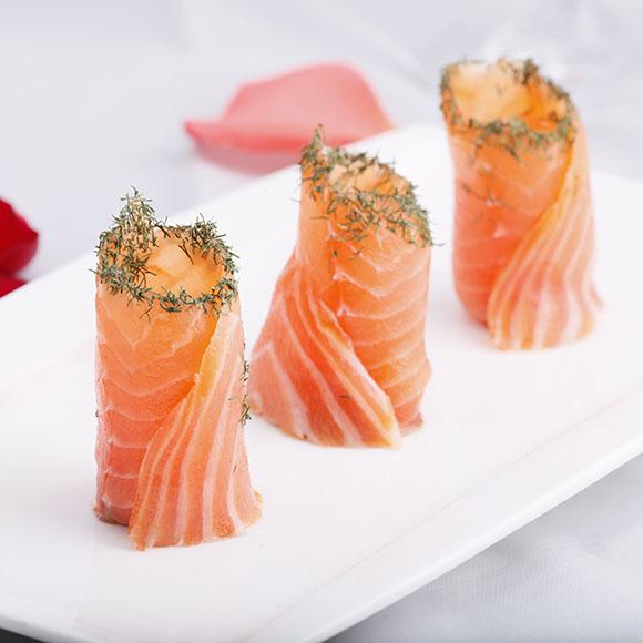 香草三文鱼