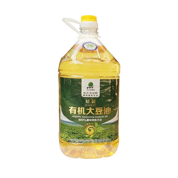 北大荒绿野非转基因大豆油5L