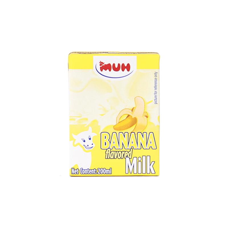 甘蒂牧场 香蕉味牛奶