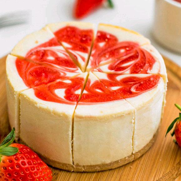 芝士百丽™纽约风味草莓味芝士蛋糕