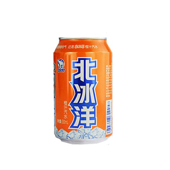 北冰洋橙汁汽水
