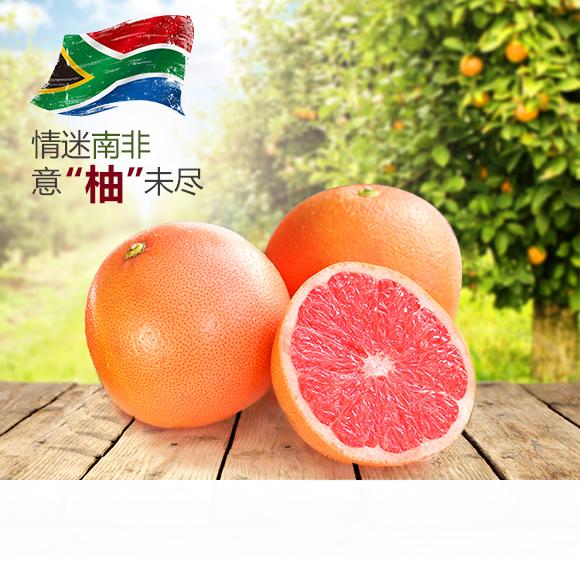 南非进口红心西柚 炎炎夏日 送自己一份粉色的心情