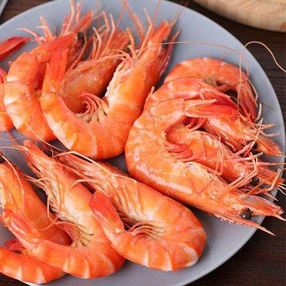 熟冻黑虎虾