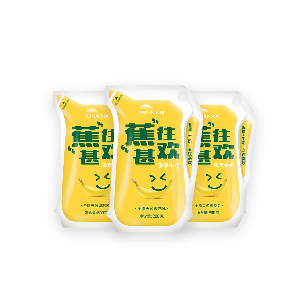 天润香蕉牛奶