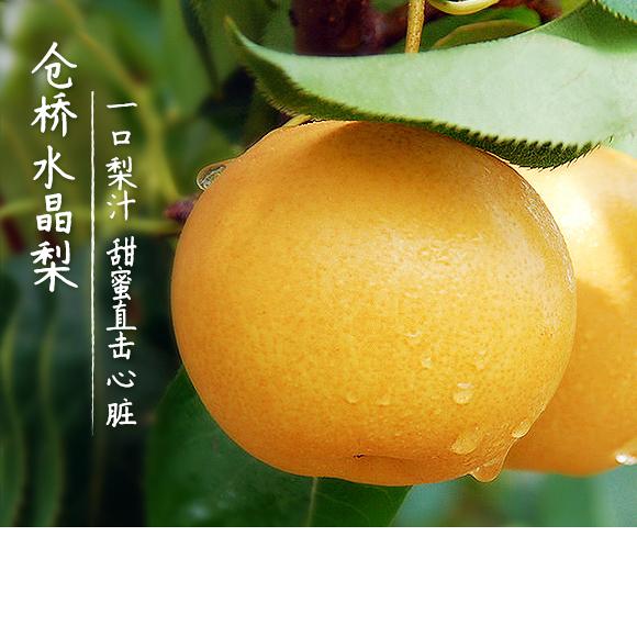 易燃易爆炸的夏天 给你一只可以降温的水晶梨
