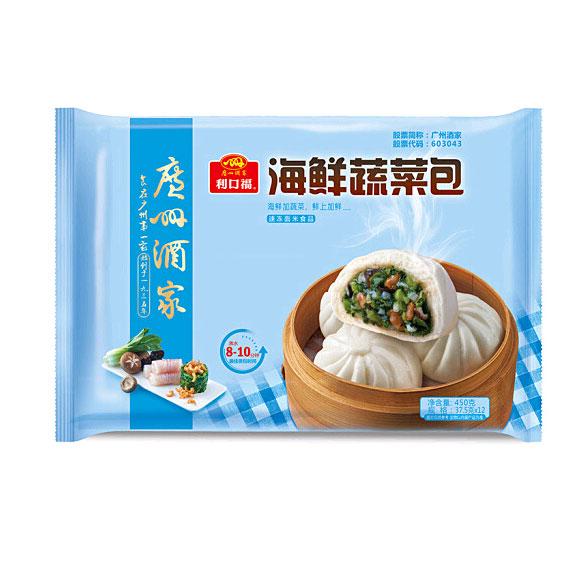 广州酒家海鲜蔬菜包