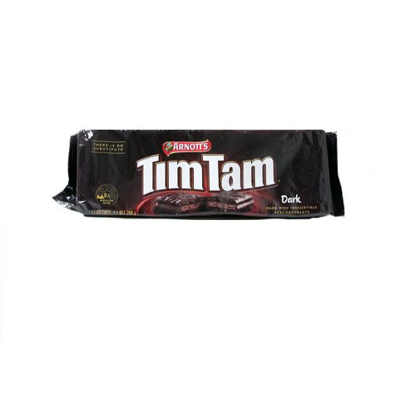 雅乐思timtam牌黑巧克力味巧克力夹心饼干