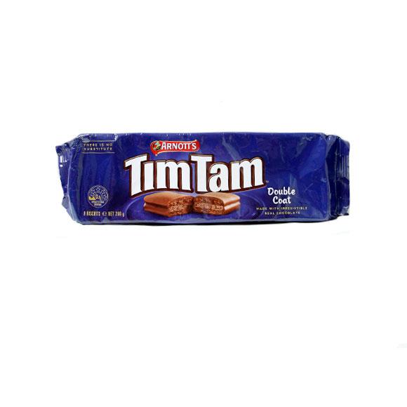 雅乐思timtam牌双层巧克力味巧克力夹心饼干