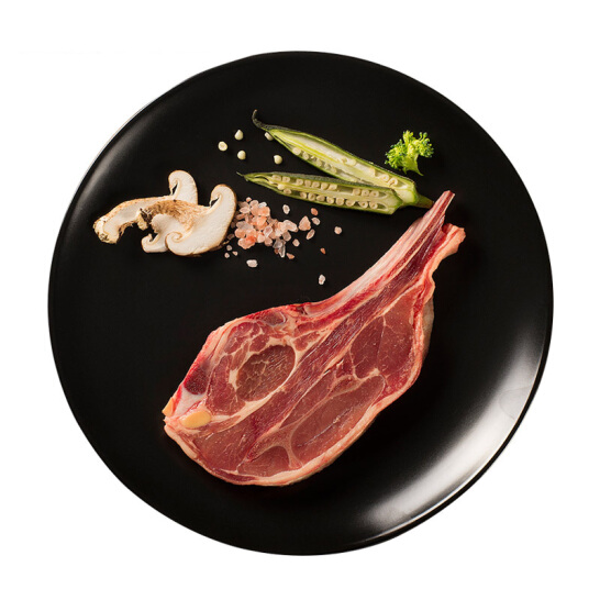 大庄园 新西兰进口单骨法式肩排 500g/袋 法式羔羊排西餐羊排京东自营