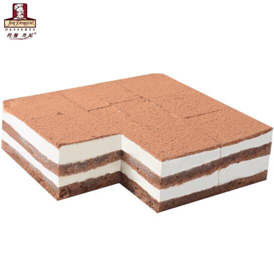 約翰丹尼 特制提拉米蘇口味 節日蛋糕 冷凍蛋糕 冷凍甜品 兒童生日蛋糕 西式下午茶  720g/盒 9片