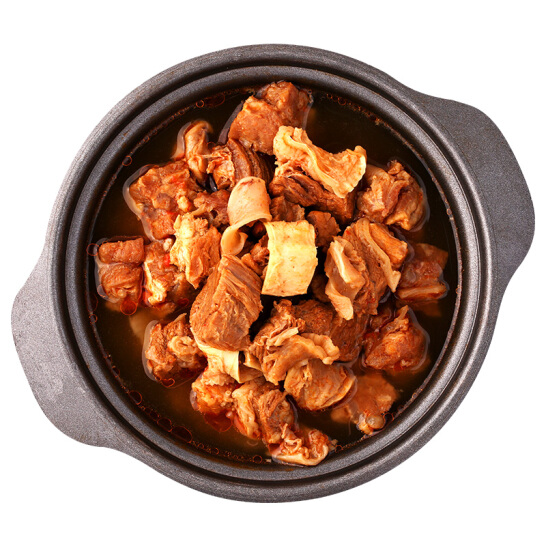 蒙都 秘密小牛肉 筋頭巴腦 熟食 1kg/盒 紅燒味