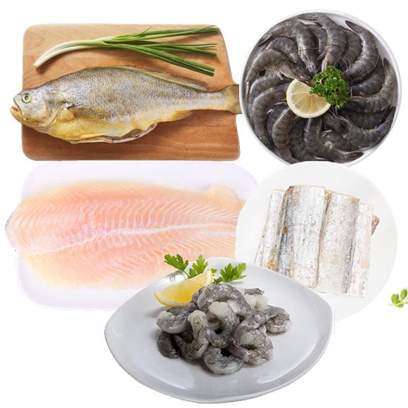 海鲜套餐组合B