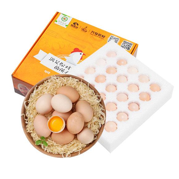 安徽有机土鸡蛋(25枚装)