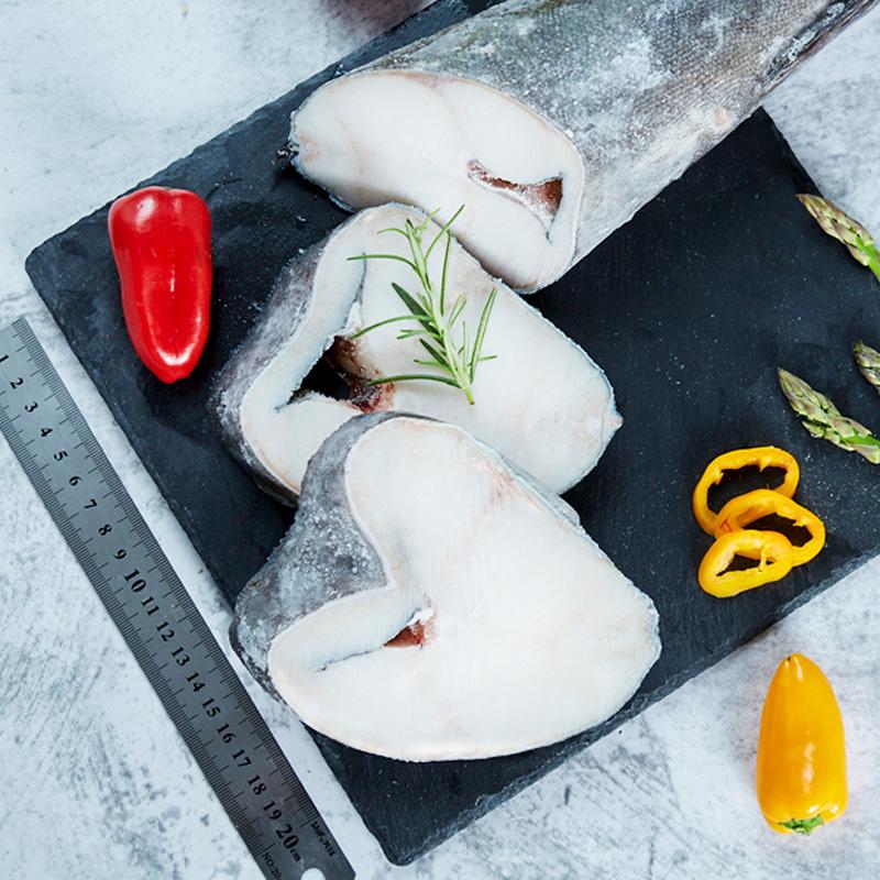 美国阿拉斯加整条黑鳕鱼切片(1条)