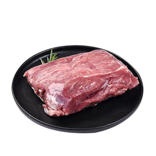 西鲜记 盐池滩羊 羔羊去骨腿肉500g/袋(内赠烧烤料)180宁夏 无添加  烤肉 炖煮 馅料 地标 国产非进口