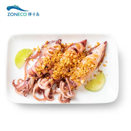 獐子岛 冷冻整条鱿鱼 500g 3-5条 火锅烧烤食材 海鲜 生鲜