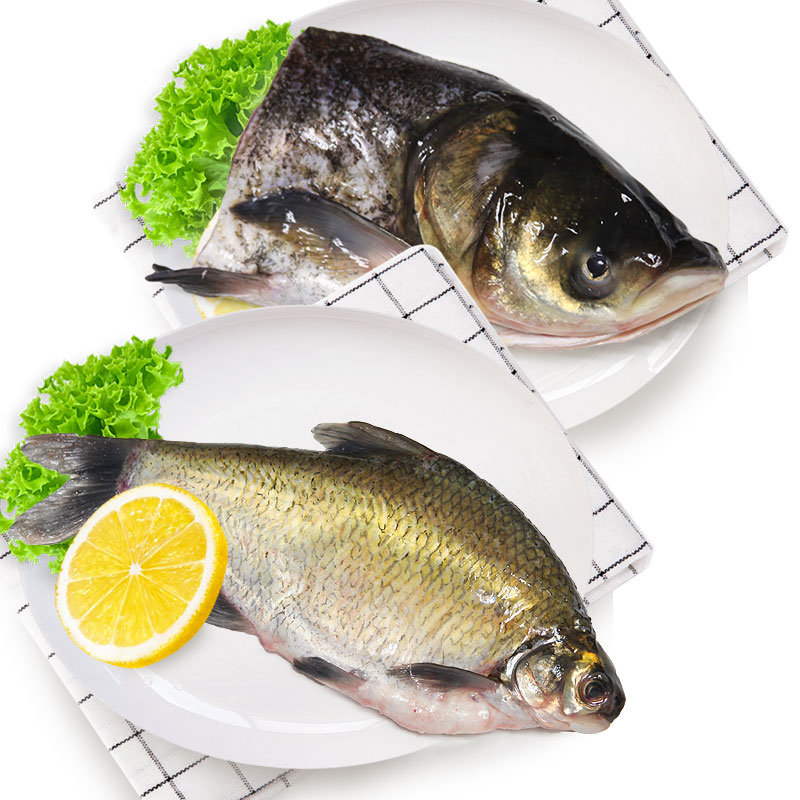 光明渔业花鲢头 (冰鲜)+鳊鱼(冰鲜)