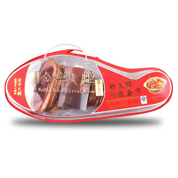 金字塑盒火腿(蹄片)
