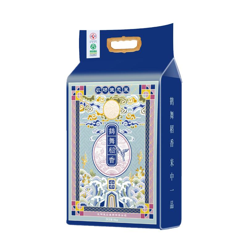 鶴舞稻香生態米5kg