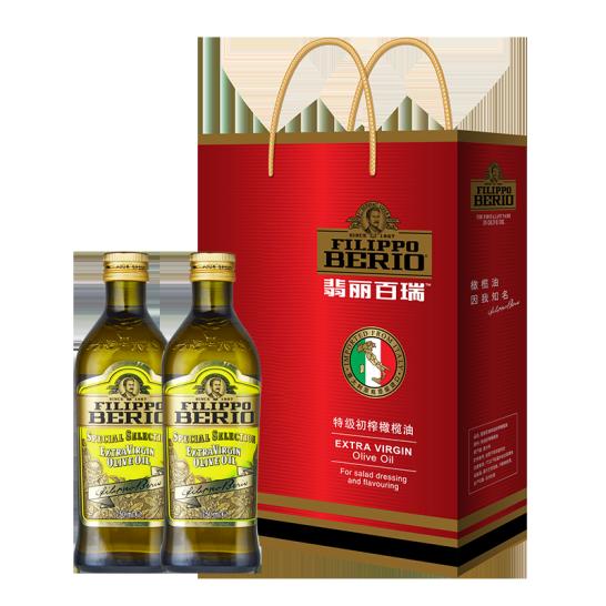 翡丽百瑞特级初榨橄榄油礼盒(750ml)