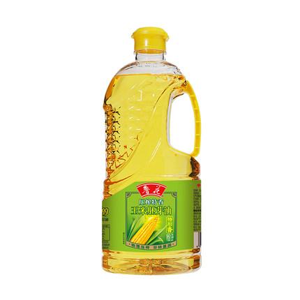 鲁花压榨特香玉米胚芽油1.6L