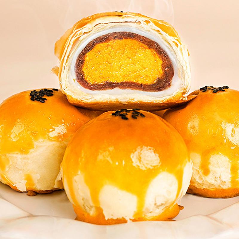 轩妈蛋黄酥(红豆沙)