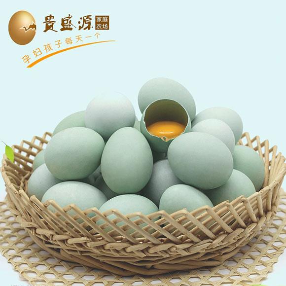 安徽果林绿壳乌鸡蛋(30枚)