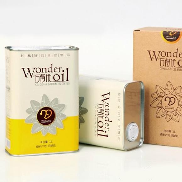 万得优OMEGA-9(高油酸)葵花籽油礼盒