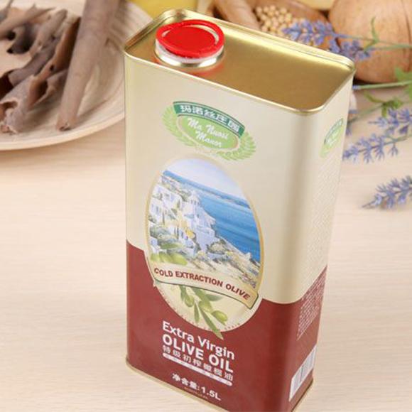 玛诺丝庄园特级初榨橄榄油1.5L