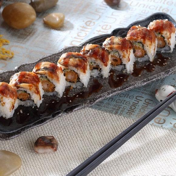 日式蒲烧鳗卷
