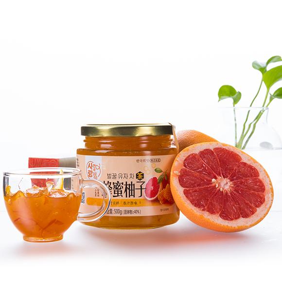 蜂蜜柚子茶500g