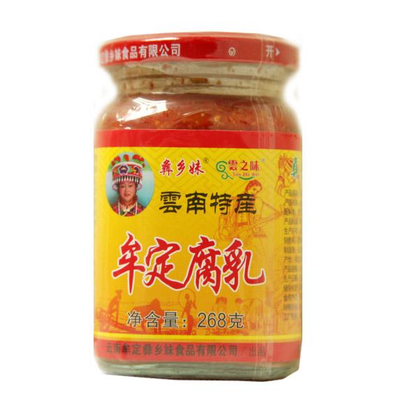 云南牟定腐乳(姜片)