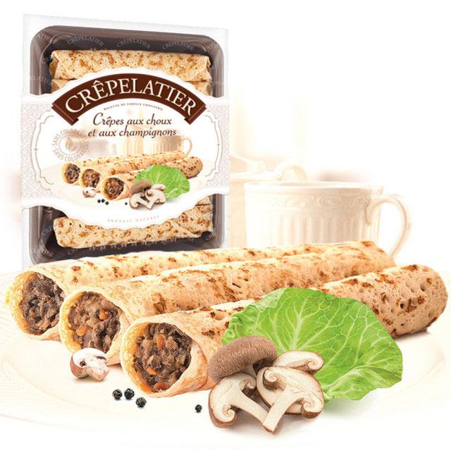 卷心菜蘑菇可丽饼