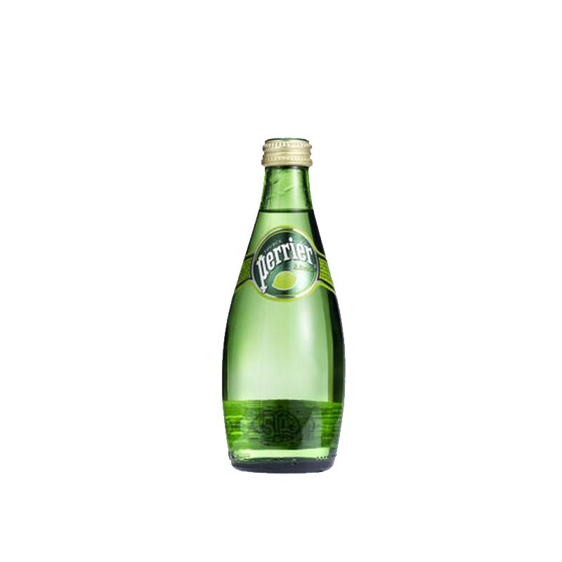 Perrier法国【巴黎】 含气柠檬味天然矿泉水 (330mL*24)