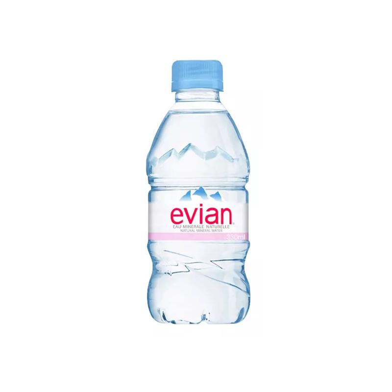 Evian依云天然矿泉水 330ml*24瓶