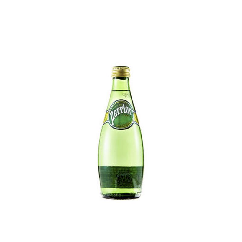 Perrier法国【巴黎】 含气天然矿泉水 (330mL*24)