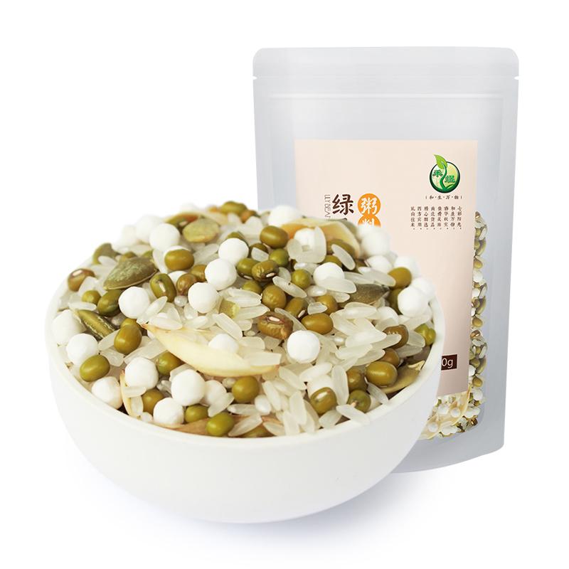 禾煜绿豆百合粥料