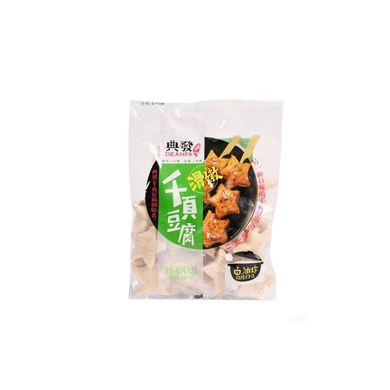 滑嫩千页豆腐