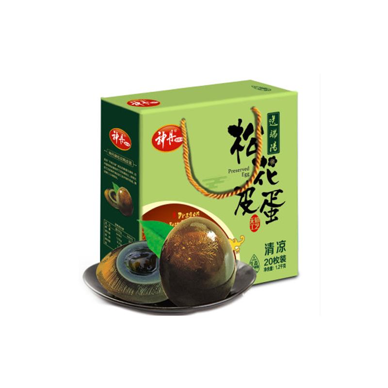 神丹松花鸭皮蛋(礼盒装)