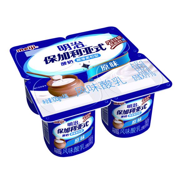 明治保加利亚式酸奶顺滑柔和型原味
