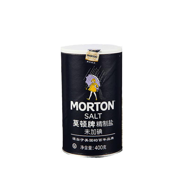 莫顿牌精制盐(末加碘)