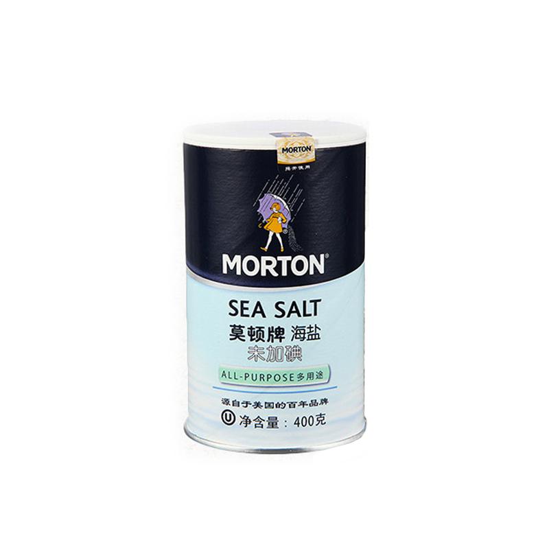 莫顿牌海盐(末加碘)