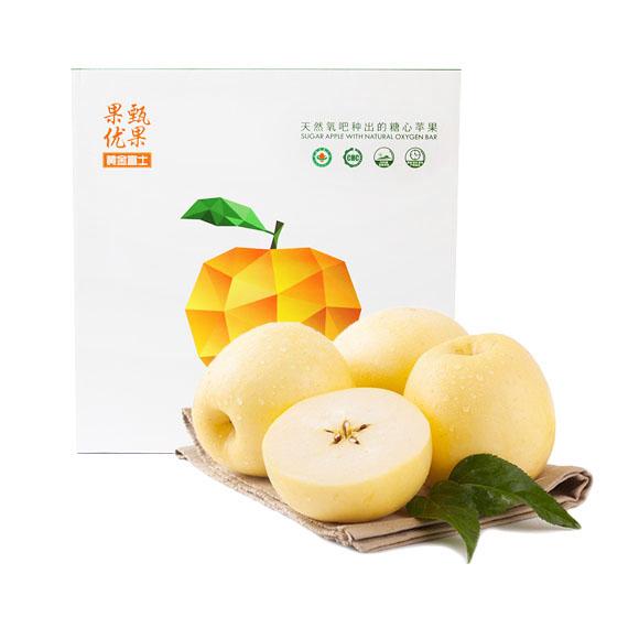 有机黄金富士苹果(85果)
