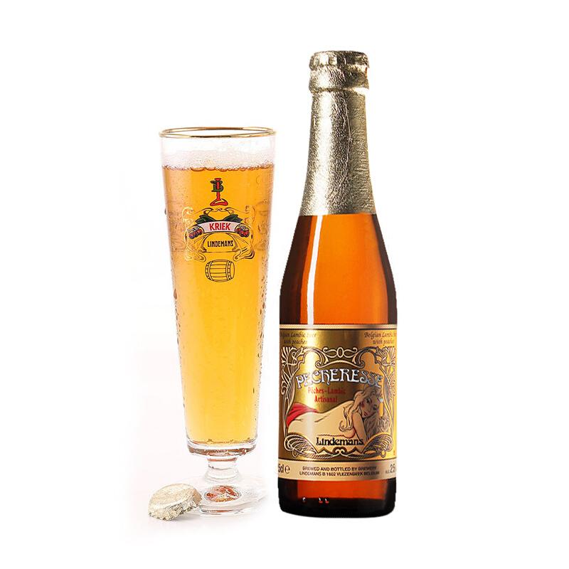 林德曼啤酒桃子味