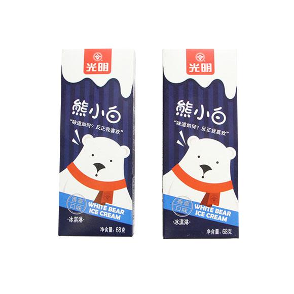 光明熊小白冰淇淋(香草味)