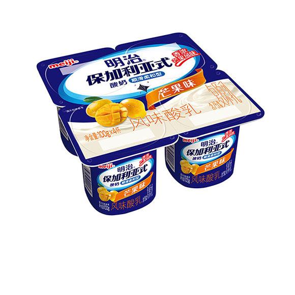 明治保加利亚式酸奶顺滑柔和型芒果味