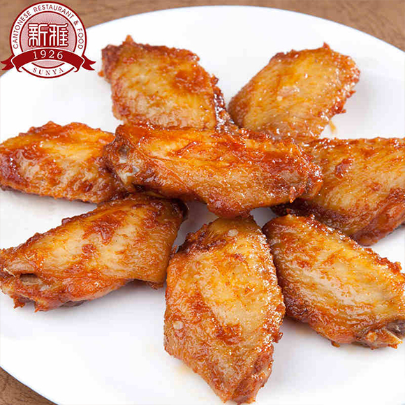 新雅烧烤味鸡翅(盒)