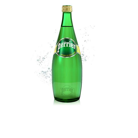Perrier法国【巴黎】 含气天然矿泉水 (750mL*12)